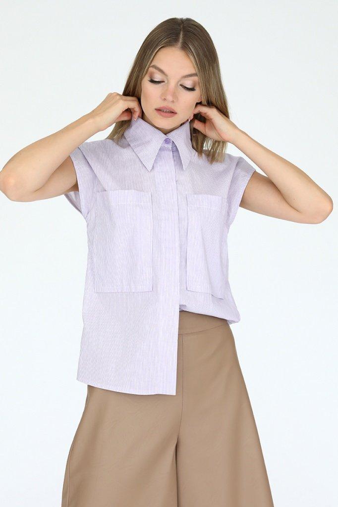 Рубашка с накладными карманами, 02.038.02.389