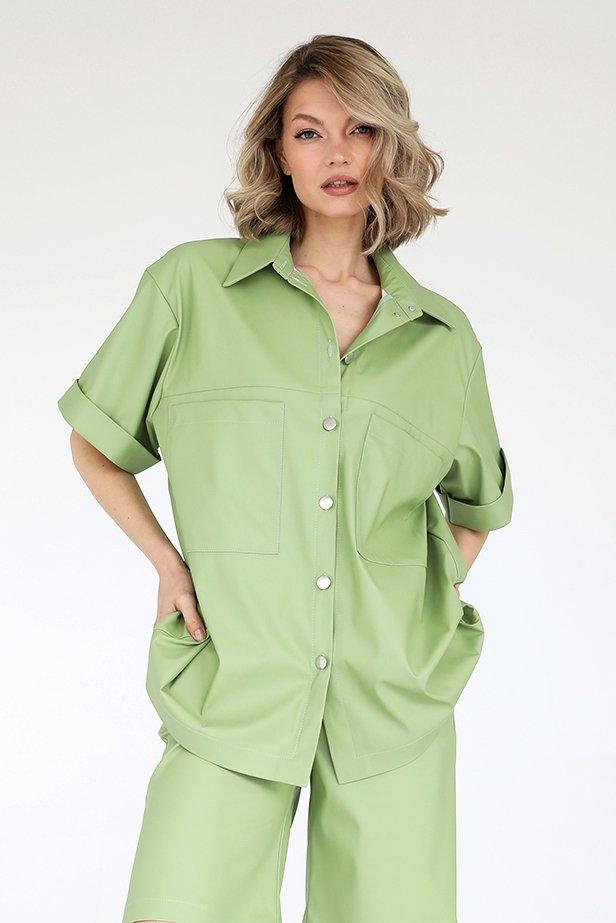 Рубашка из экокожи, 3.02.048.19.640