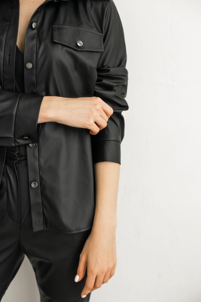 Рубашка из искусственной кожи, 02.028.19.610