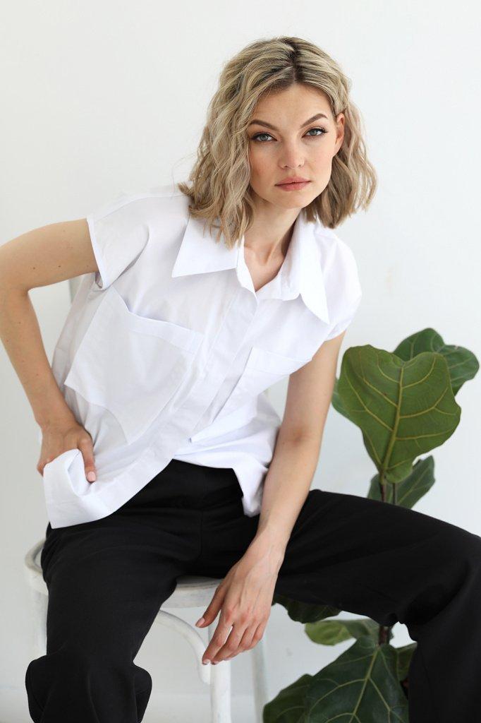 Рубашка с накладными карманами, 3.02.038.25.06