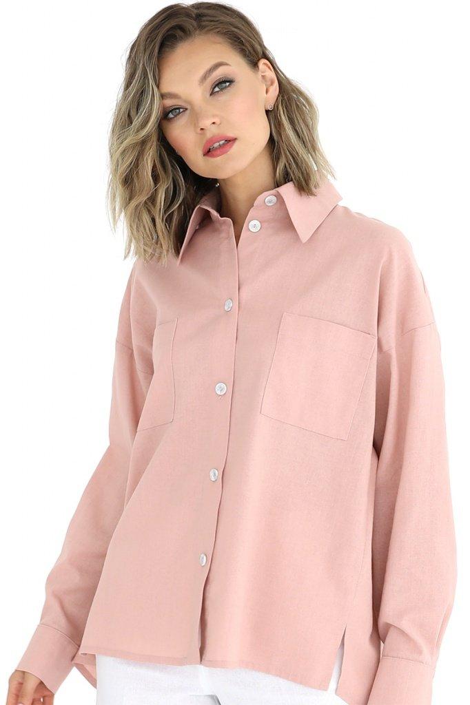Рубашка со сборкой по спинке, 02.029.11.382
