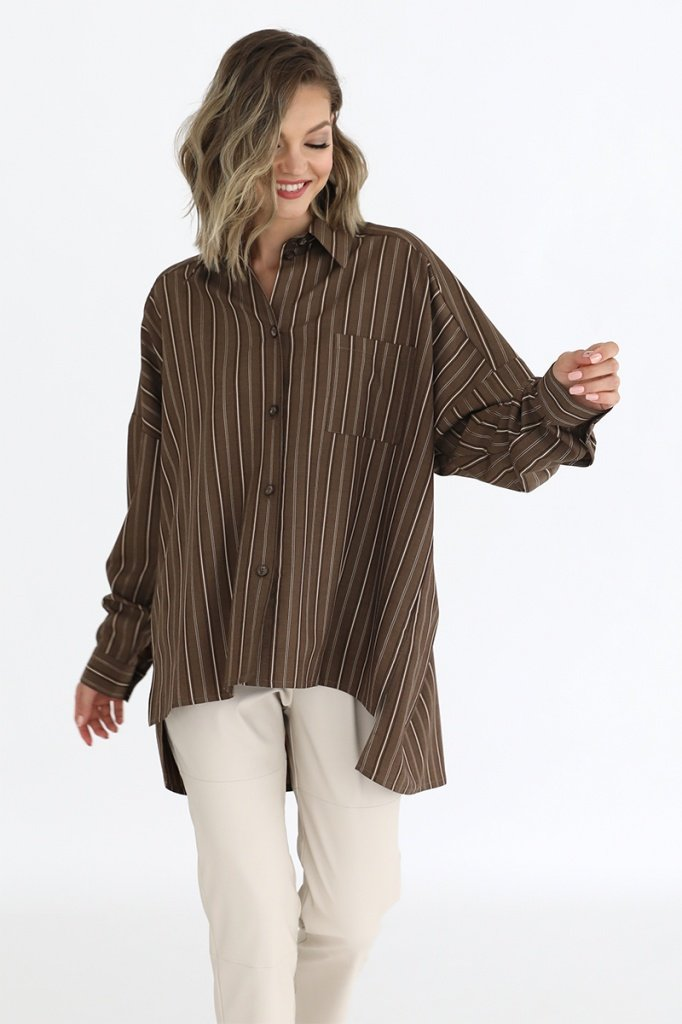 Рубашка с асимметричным низом, 02.030.13.384