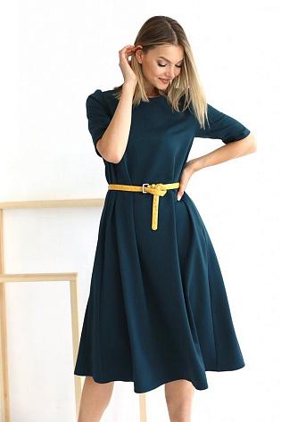Платье миди А-силуэта